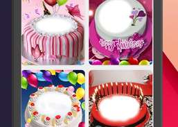 Birthday Cake Photo Frame Screenshots