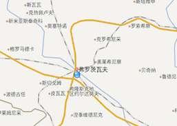 baidu map in english