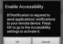 BT Notification Download and Install | Android