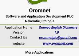 Afaan Oromo English Dictionary Download and Install | Android