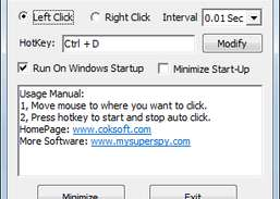 Cok Free Auto Clicker Download and Install | Windows