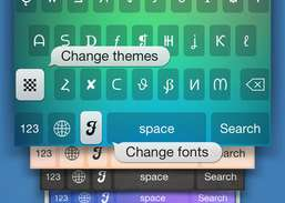 Symbolizer Fonts Keyboard with Fancy Emoji Symbols for Facebook and